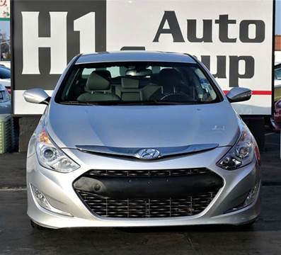 2013 Hyundai Sonata Hybrid for sale at H1 Auto Group in Sacramento CA