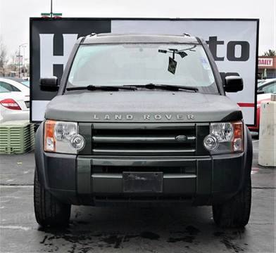 2005 Land Rover LR3 for sale at H1 Auto Group in Sacramento CA