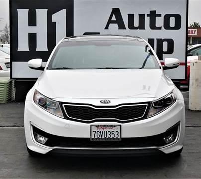 2013 Kia Optima Hybrid for sale at H1 Auto Group in Sacramento CA