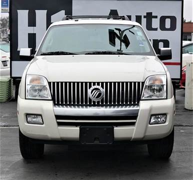 2007 Mercury Mountaineer for sale at H1 Auto Group in Sacramento CA