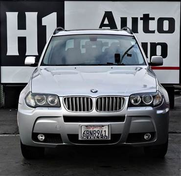 2008 BMW X3 for sale at H1 Auto Group in Sacramento CA