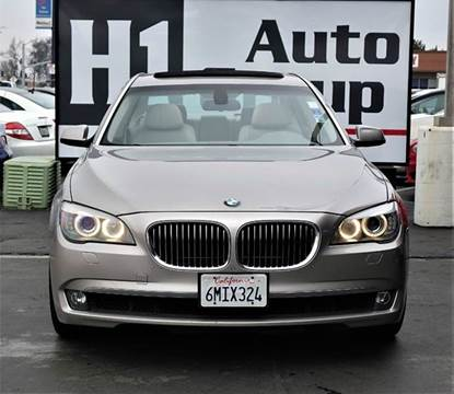 2009 BMW 7 Series for sale at H1 Auto Group in Sacramento CA