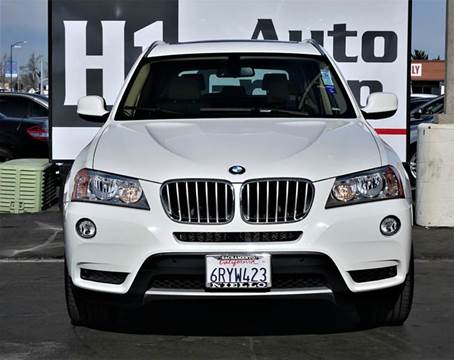 2011 BMW X3 for sale at H1 Auto Group in Sacramento CA
