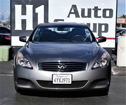 2009 Infiniti G37 Convertible for sale at H1 Auto Group in Sacramento CA