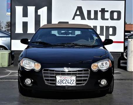 2004 Chrysler Sebring for sale at H1 Auto Group in Sacramento CA