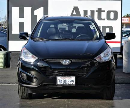 2011 Hyundai Tucson for sale at H1 Auto Group in Sacramento CA