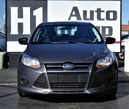 2012 Ford Focus for sale at H1 Auto Group in Sacramento CA