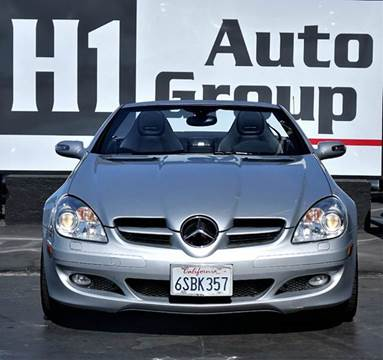 2006 Mercedes-Benz SLK for sale at H1 Auto Group in Sacramento CA