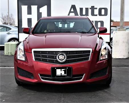 2014 Cadillac ATS for sale at H1 Auto Group in Sacramento CA