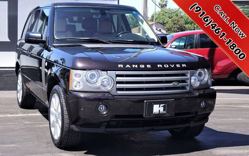 2009 Land Rover Range Rover 4x4 Hse 4dr Suv W Luxury Package In