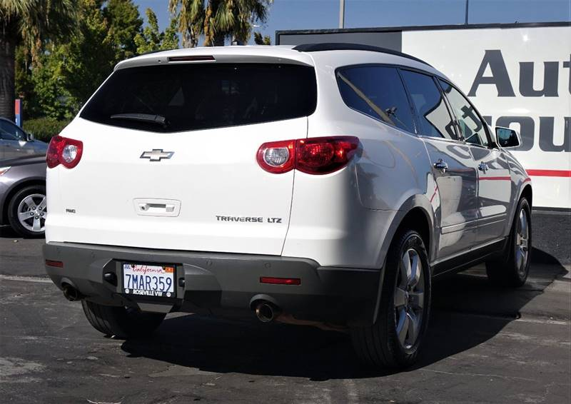 2012 chevrolet traverse awd ltz 4dr suv in sacramento ca h1 auto group. Black Bedroom Furniture Sets. Home Design Ideas