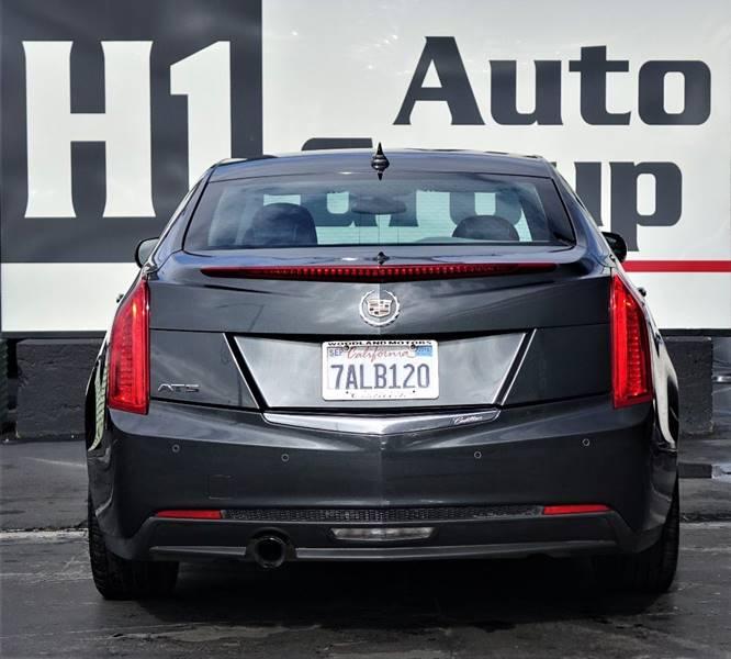 Audi Dealer Sacramento: 2014 Cadillac Ats 2.5L Luxury 4dr Sedan In Sacramento CA