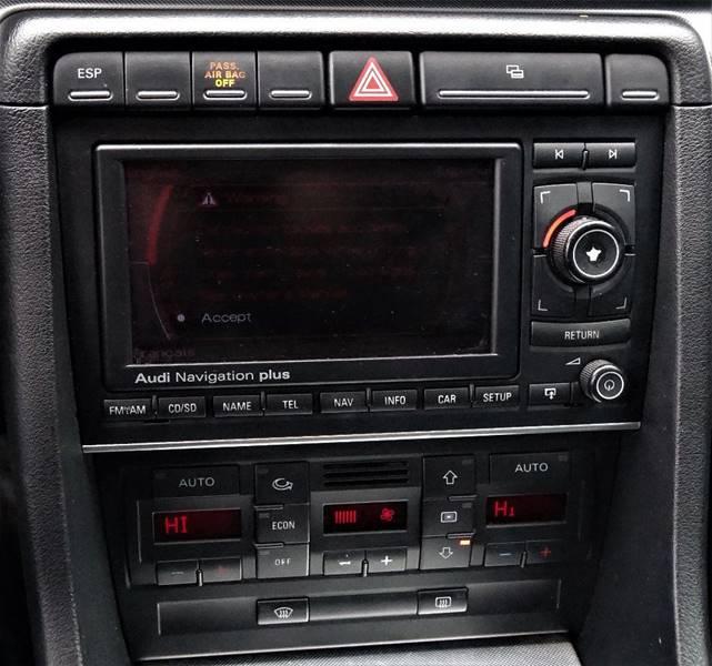 Audi Dealer Sacramento: 2007 Audi A4 AWD 2.0T Quattro 4dr Sedan (2L I4 6M) In