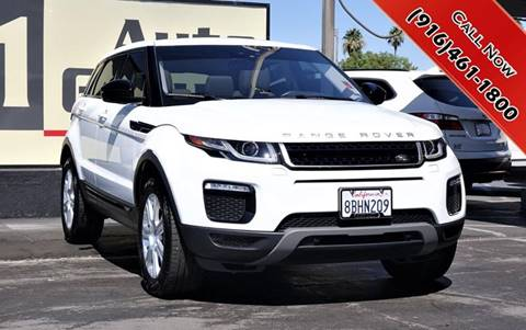2017 Land Rover Range Rover Evoque for sale in Sacramento, CA