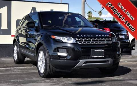 Land Rover Sacramento >> 2015 Land Rover Range Rover Evoque For Sale In Sacramento Ca
