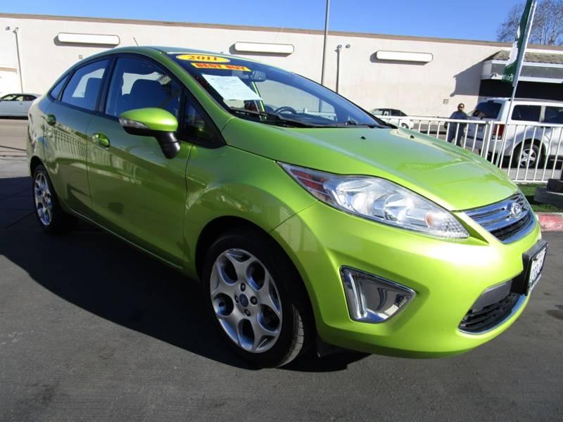 2011 Ford Fiesta Sel 4dr Sedan In Chula Vista Ca Ernie S Auto Sales