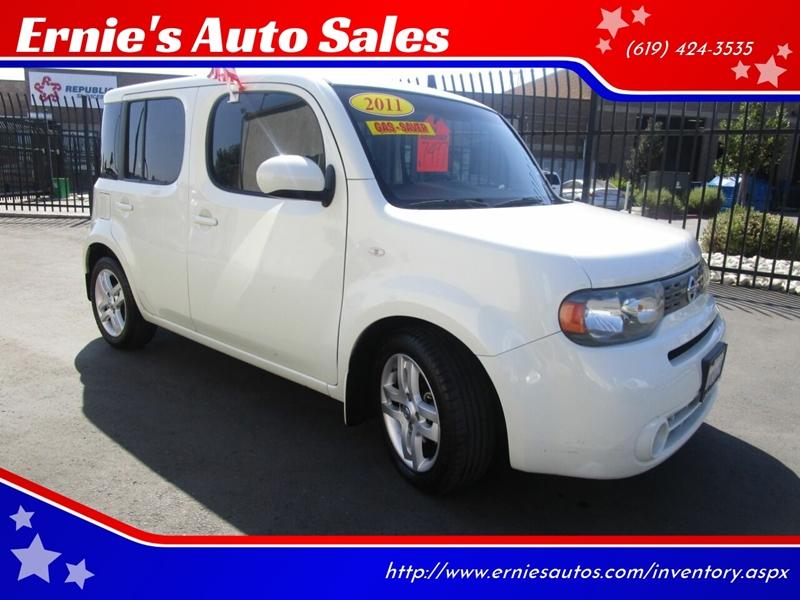 Nissan Chula Vista >> 2011 Nissan Cube 1 8 Sl 4dr Wagon In Chula Vista Ca
