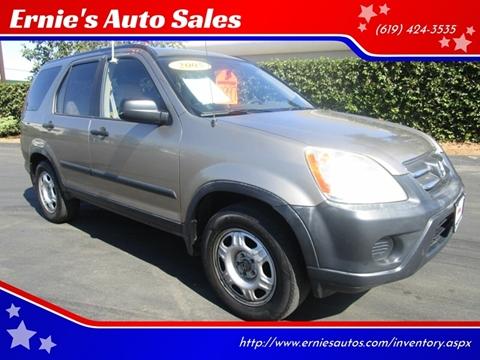 2005 Honda CR-V for sale in Chula Vista, CA