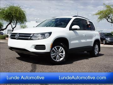 2017 Volkswagen Tiguan for sale in Peoria, AZ