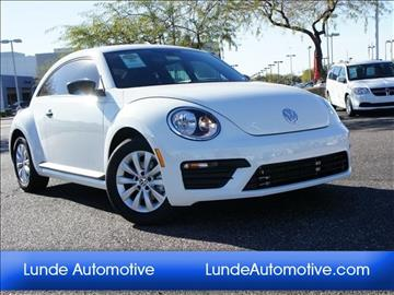 2017 Volkswagen Beetle for sale in Peoria, AZ