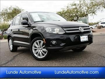 2014 Volkswagen Tiguan for sale in Peoria, AZ