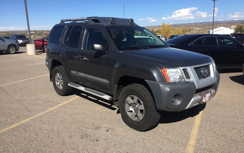 2013 nissan xterra 4x4 pro 4x 4dr suv 5a in cortez co steve keetch motors. Black Bedroom Furniture Sets. Home Design Ideas