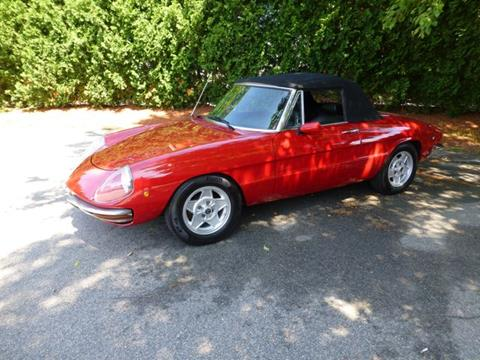 1969 Alfa Romeo Spider for sale in Lawrence, MA