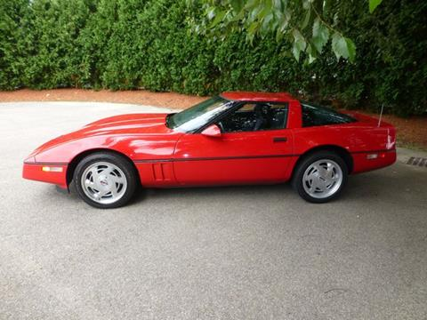 1989 Chevrolet Corvette for sale at EUROPEAN MOTORSPORTS SALES AND SERVICE INC. in Lawrence MA