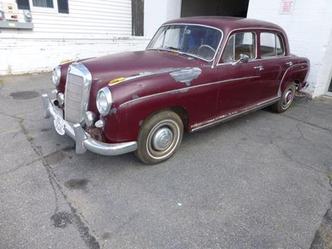 1959 Mercedes-Benz 220 S for sale at EUROPEAN MOTORSPORTS SALES AND SERVICE INC. in Lawrence MA