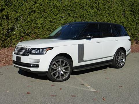 2015 Land Rover Range Rover Supercharged for sale at EUROPEAN MOTORSPORTS SALES AND SERVICE INC. in Lawrence MA