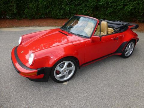1988 Porsche 911 Carrera for sale at EUROPEAN MOTORSPORTS SALES AND SERVICE INC. in Lawrence MA