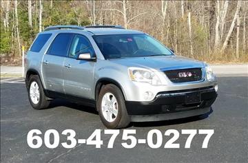 2008 GMC Acadia for sale in Danville, NH