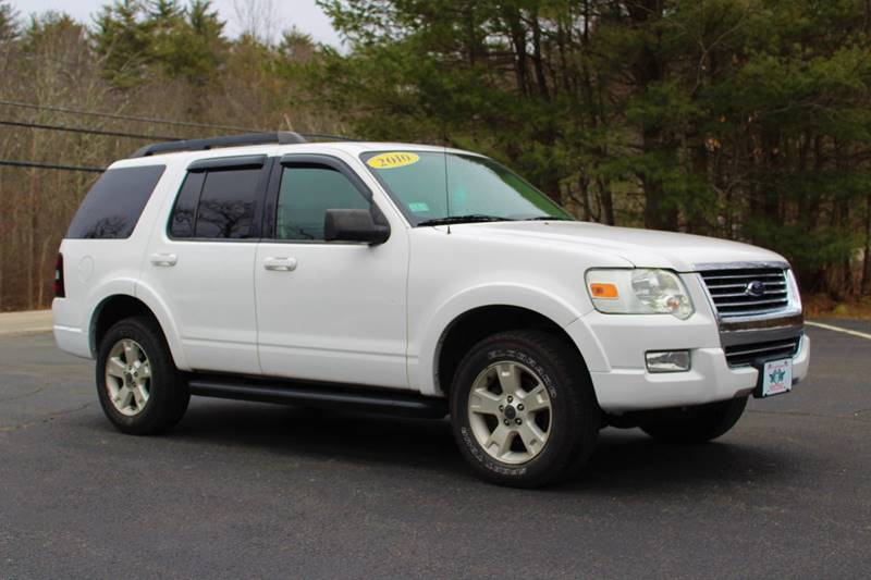 2010 ford explorer 4x4 xlt 4dr suv in danville nh - flying wheels