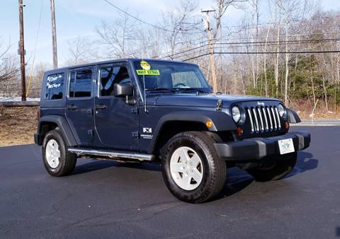 2008 Jeep Wrangler Unlimited for sale at Flying Wheels in Danville NH