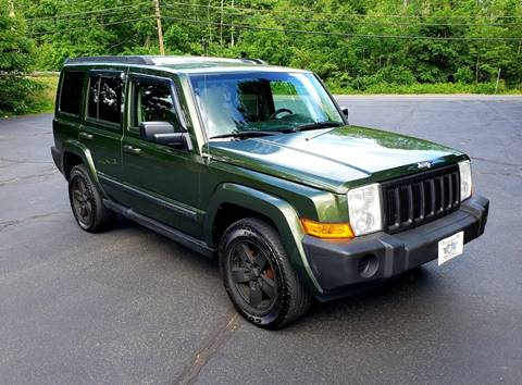 2007 Jeep Commander for sale at Flying Wheels in Danville NH