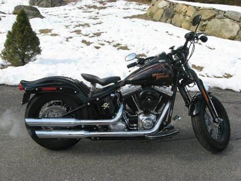 2009 Harley-Davidson Cross Bones FLSTSBS for sale at Flying Wheels in Danville NH