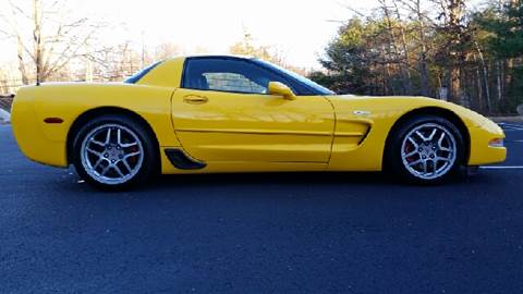 2003 Chevrolet Corvette for sale at Flying Wheels in Danville NH