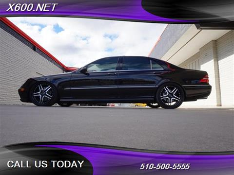 2002 Mercedes-Benz S-Class for sale in Fremont, CA