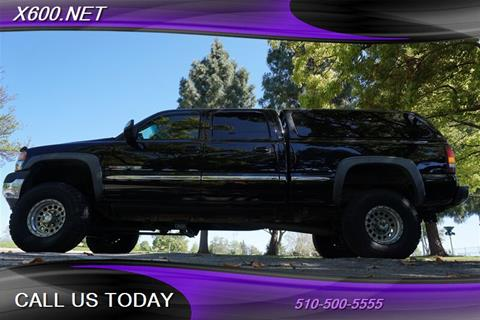 2002 GMC Sierra 2500HD for sale in Fremont, CA
