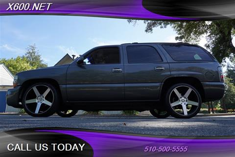 2001 Chevrolet Tahoe for sale in Fremont, CA