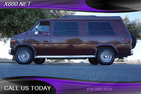 1989 Chevrolet Chevy Van for sale in Fremont, CA