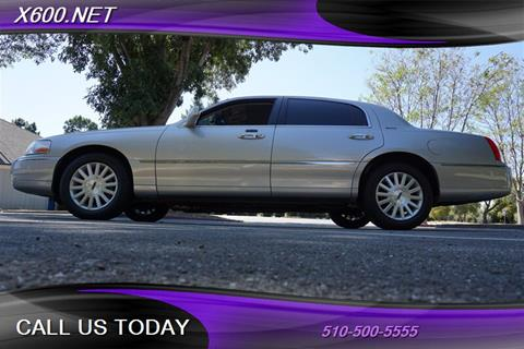 2004 Lincoln Town Car for sale in Fremont, CA
