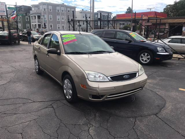 2007 Ford Focus for sale at Adams Street Motor Company LLC in Boston MA
