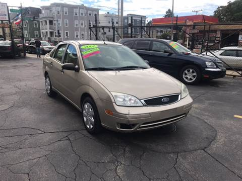 2007 Ford Focus for sale at Adams Street Motor Company LLC in Dorchester MA