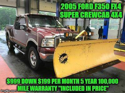 2005 Ford F-350 Super Duty for sale at D&D Auto Sales, LLC in Rowley MA