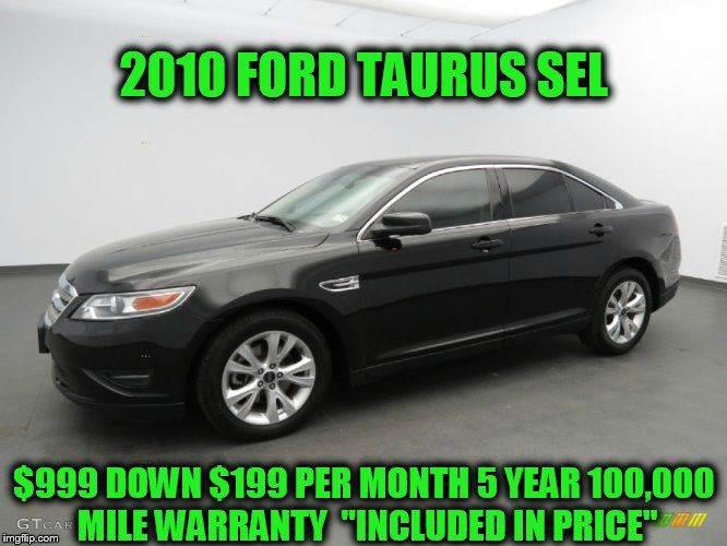 2010 Ford Taurus SEL 4dr Sedan - Rowley MA