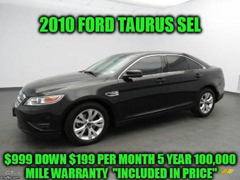 2010 Ford Taurus for sale at D&D Auto Sales, LLC in Rowley MA