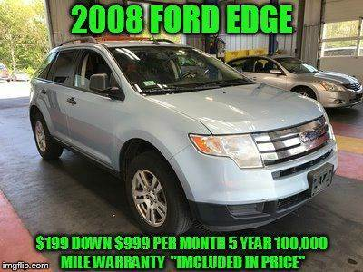 2008 Ford Edge for sale at D&D Auto Sales, LLC in Rowley MA