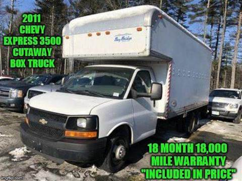2011 Chevrolet Express Cutaway for sale at D&D Auto Sales, LLC in Rowley MA