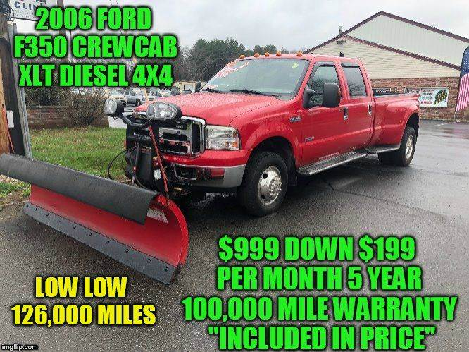 2006 Ford F250 4x4 Diesel For Sale